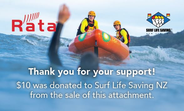 Rata Surf Life Saving Decal