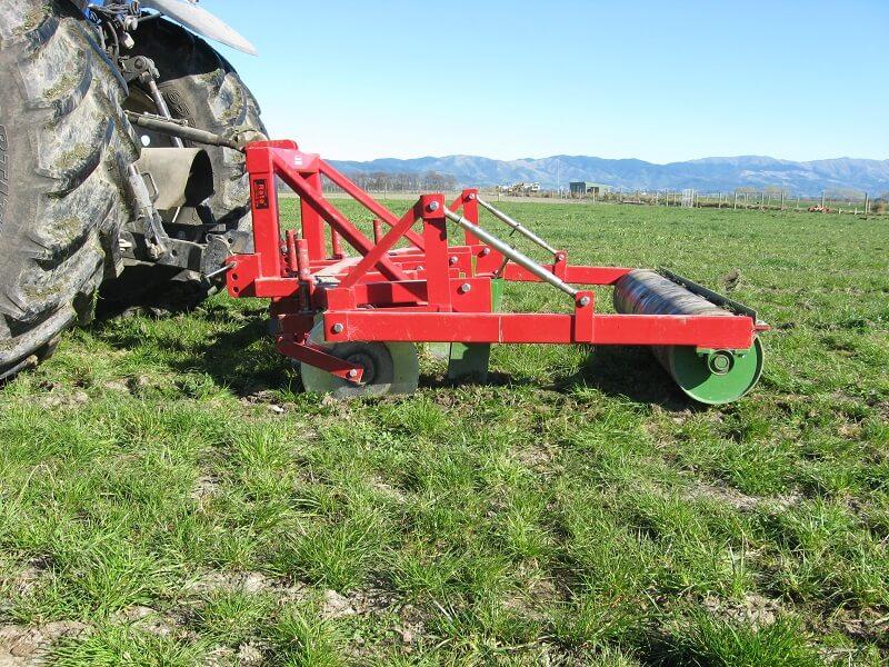 Rata Subsoiler aerating pasture soils