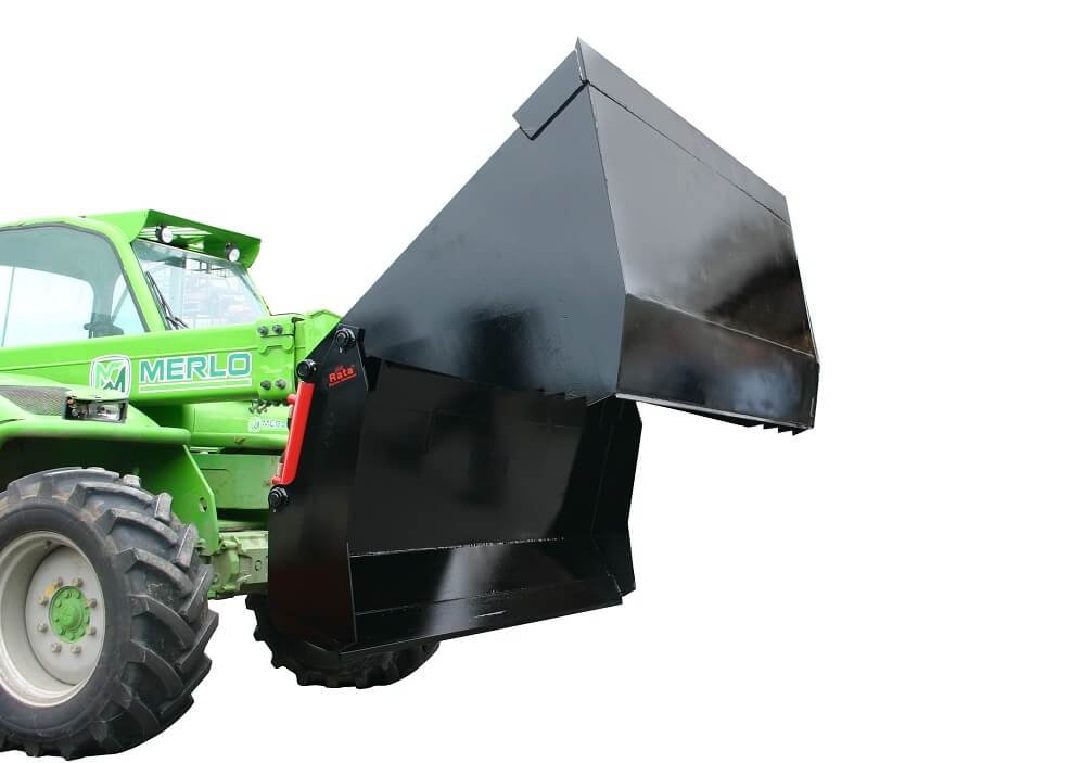 Rata 4 in 1 multi bucket on Merlo Telehandler