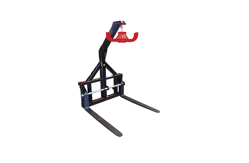 bag lifter pallet fork combo with hanging hook