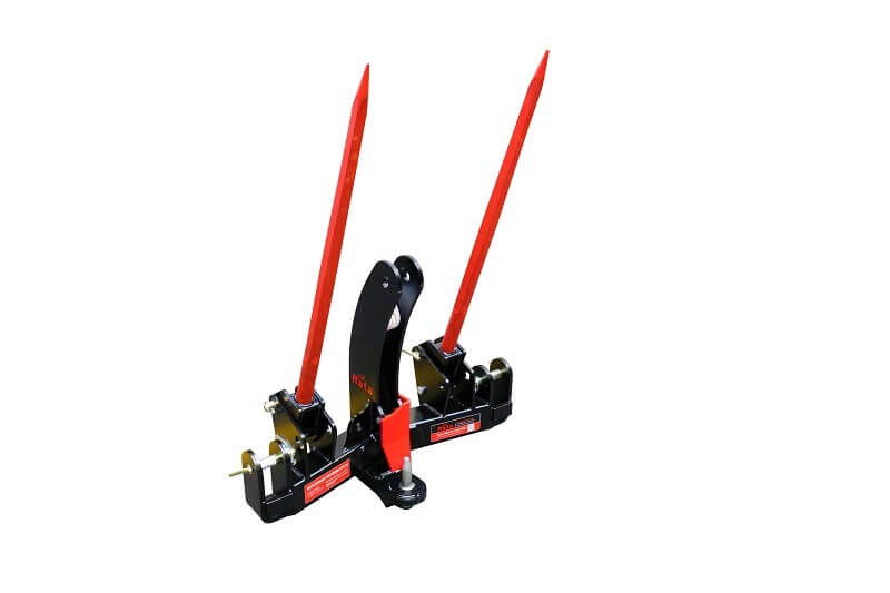 Rata drawbar tow hitch and bale fork combo