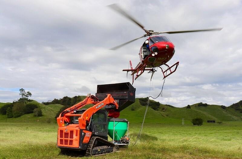 Rata Helicopter Loading Bucket - Rata Funnel Bucket