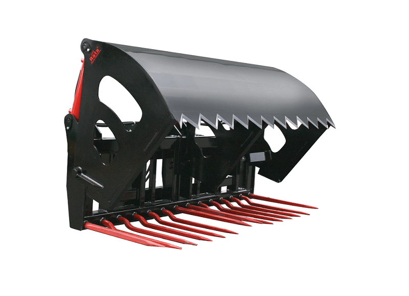 Rata Shear Grab for Tractor front end loaders and Telehandlers