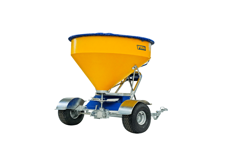 Vogal EX750 fertiliser spreader for large quad bikes
