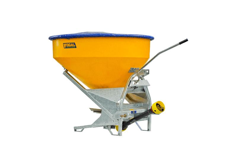Vogal TPL750 fertiliser spreader - PTO drive - Rata Equipment - Rata Industries