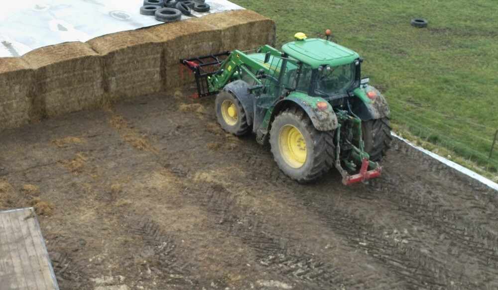 Silage Bale Stack