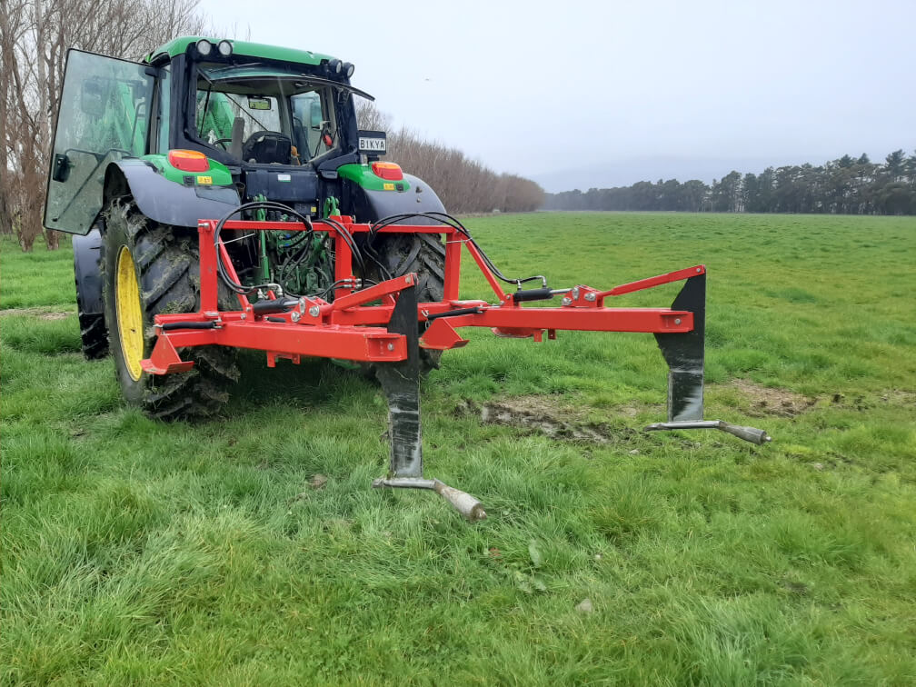 Rata Double Mole Plough