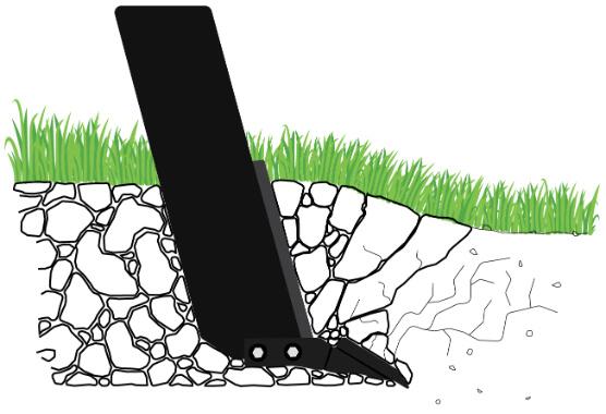 Subsoil Aeration Diagram