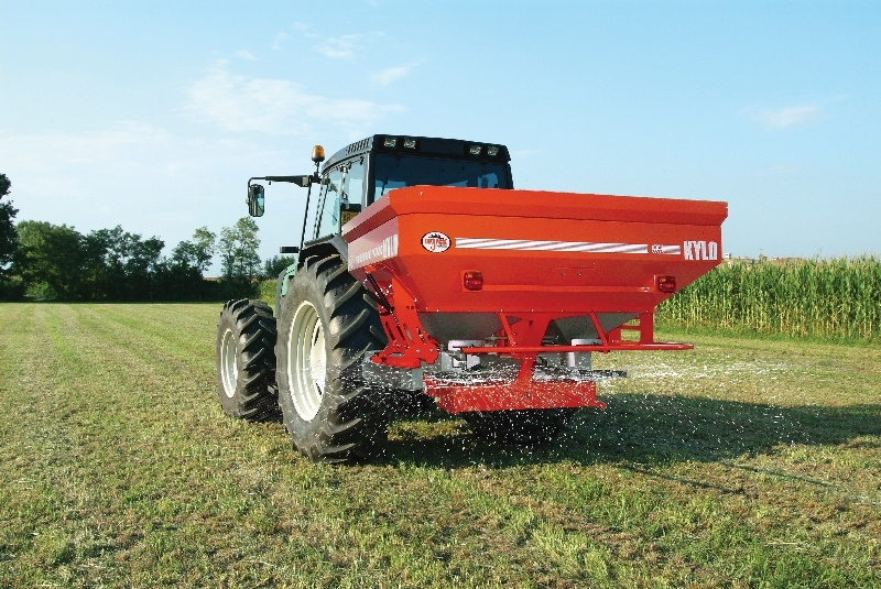 Agrex KYLO Integrated Weighing Precision Spreader