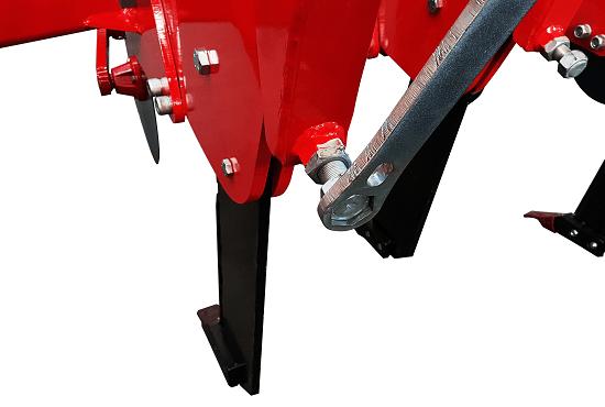Adjustable tension of reset springs