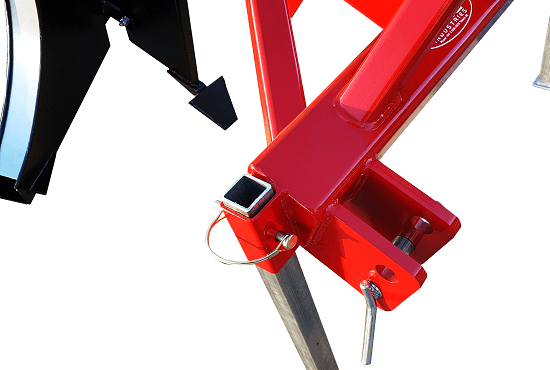Rata Single Leg Ripper storage stand and heavy linkages