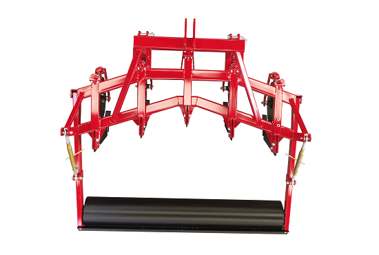 V formation of Rata Subsoiler frame and legs