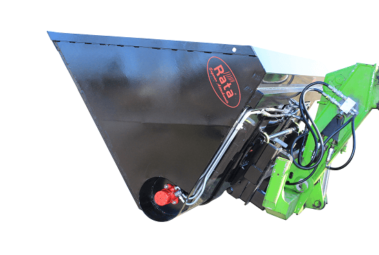 High Capacity Auger Bucket