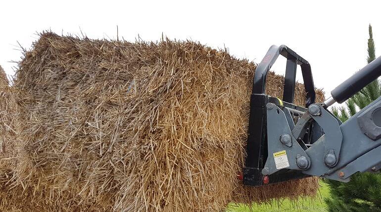 Rata Bale Forks for Tractor front end loader handling hay bales