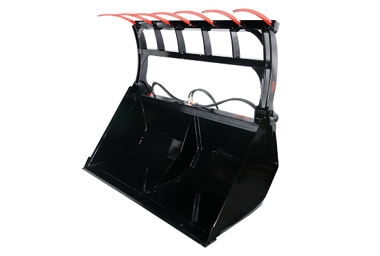 Wide opening width of Rata Bucket Grabs enable just about any load to be secured