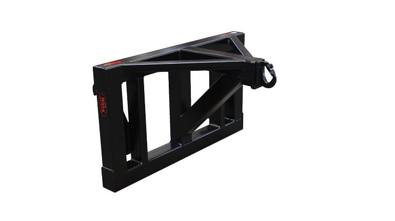 Rata Equipment's Certified Lifting Jib for Tractors & Telehandlers
