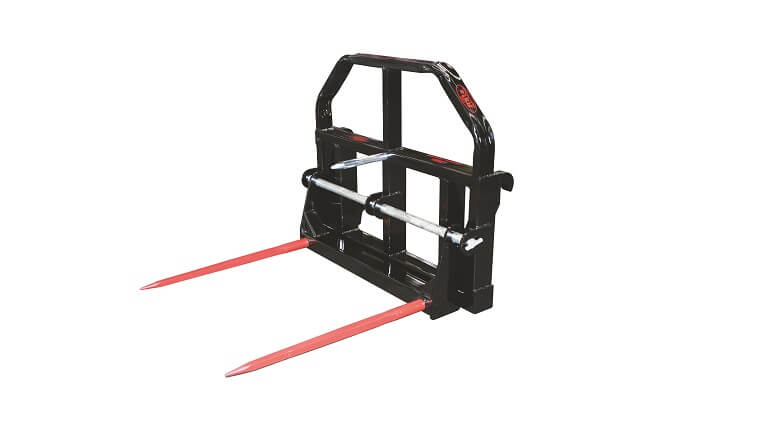 Rata Combo fork for handling pallets and bales