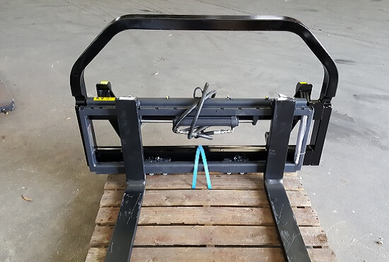 Optional pallet fork side shift for Rata Pallet Forks