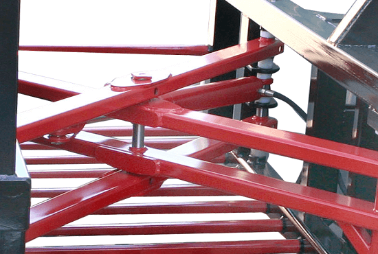 High tensile pins & easy grease access