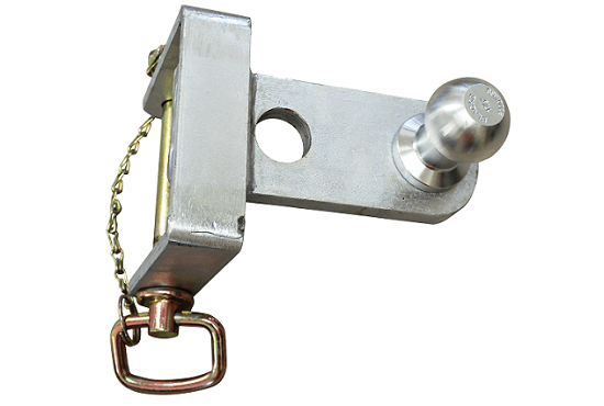 Tow ball attachment for 3 point linkage quick hitch, tow hitches