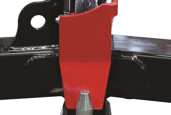 Safety Flap on Rata Tow Hitch