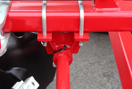 Easy grease access on Rata Tandem Disc Cultivators