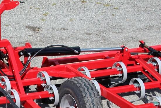 Hydraulic wing lift & transport