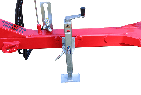 Drawbar stand on Rata cultivators