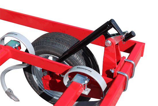 Adjustable wing wheels