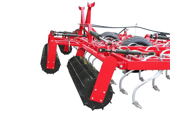 Rear crumbler roller overlap