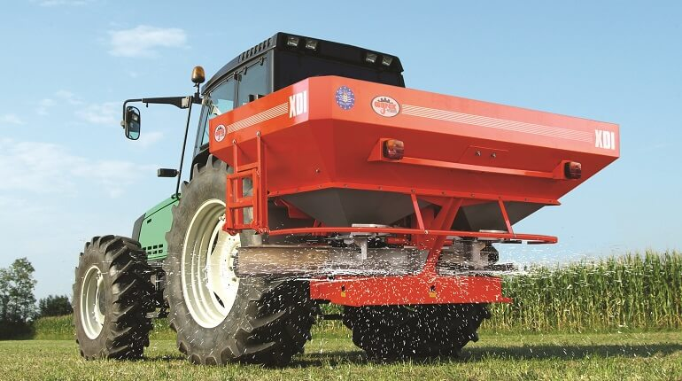 Agrex XDI fertiliser spreader