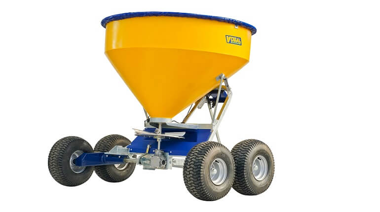 Vogal TT750 twin axle fertiliser spreader