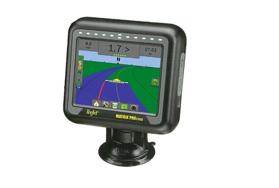 GPS guidance and proof of placement for fertiliser spreaders