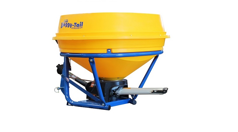 Vogal Waggy-Tail fertiliser spreader